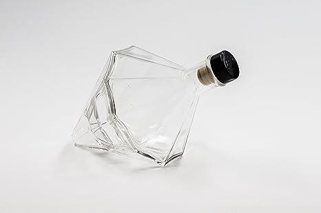 nr 1 botella Diamante 500 ml de vidrio blanco tapón n°22