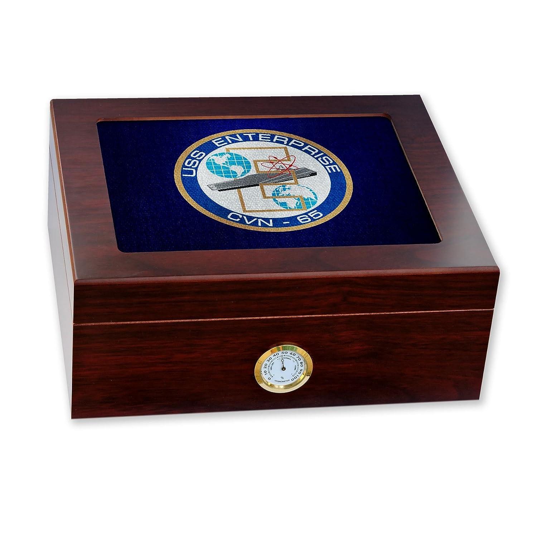【WEB限定】 プレミアムデスクトップHumidor – ガラストップ Crest – 米国海軍USSエンタープライズ( – cvn-65 ) ( B06WD2RBQ7 Crest ) B06WD2RBQ7, Sunruck Direct:18f4cf44 --- a0267596.xsph.ru