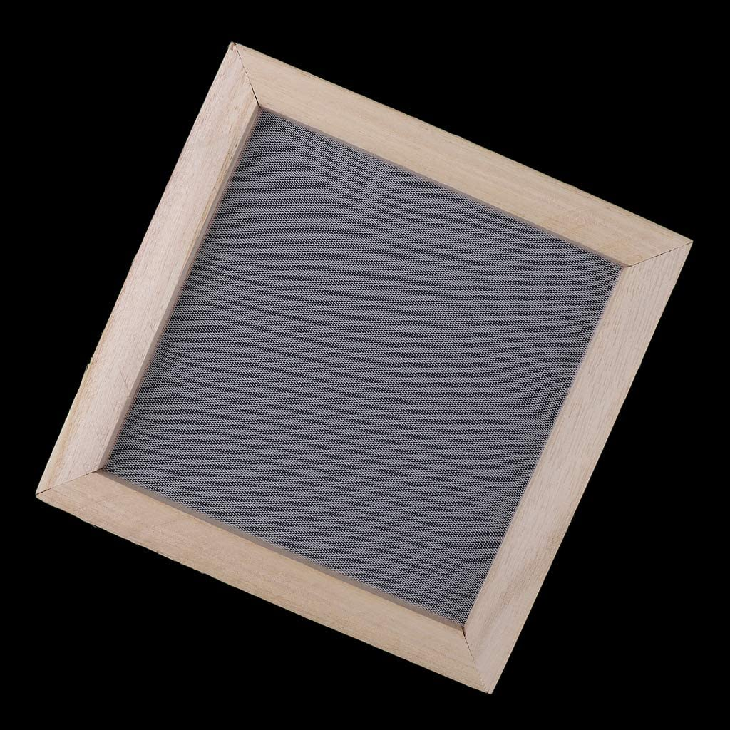 7 Sizes to Choose 19x25cm Antique Paper Making Frame Screen Mesh Mould DIY Paper Kit for Handmade Paper for Adults Children Interactive Toys Communication