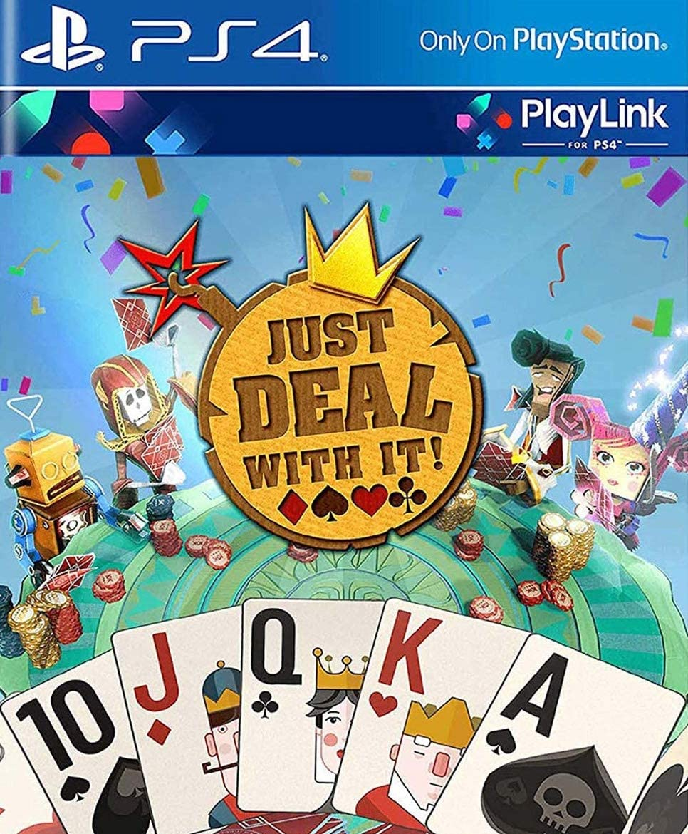 Amazon.com: Just Deal With It (PS4): Video Games