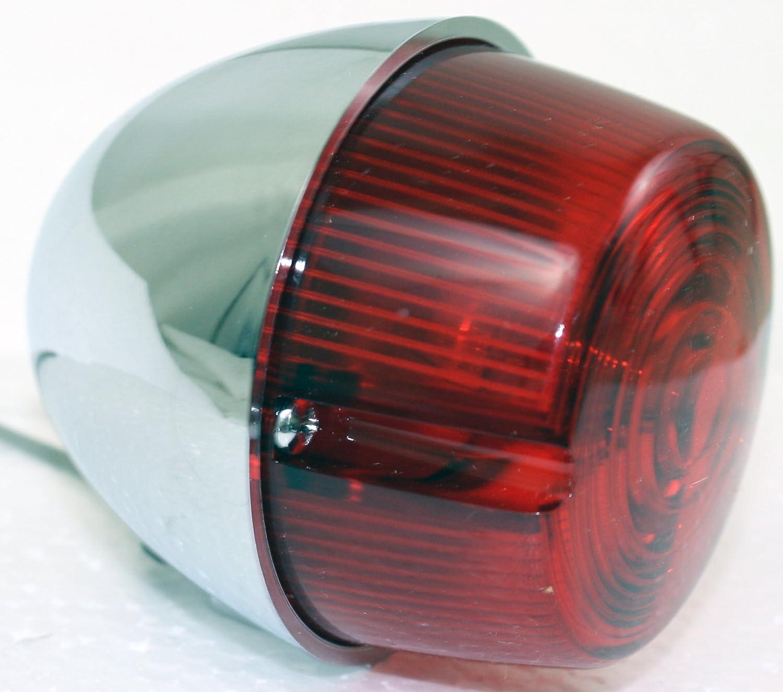 R Harley Davidson 68514-73 2X Chrome 12V Motorcycle Turn Signal Running Light