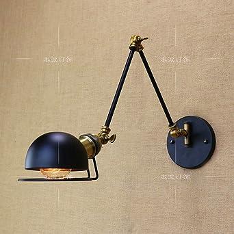 XSPWXN Lampe murale Vintage Ajustable Edison Simplicité Applique ...