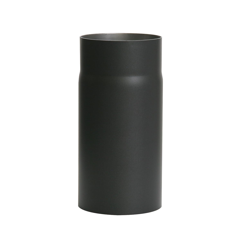 Kamino-Flam 331700 - Conducto de extracción de humos (2 mm, 120 x 250 mm), color negro: Amazon.es: Hogar
