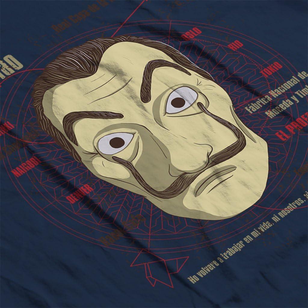 Cloud City 7 CASA de Papel Heist Mask Mens T-Shirt