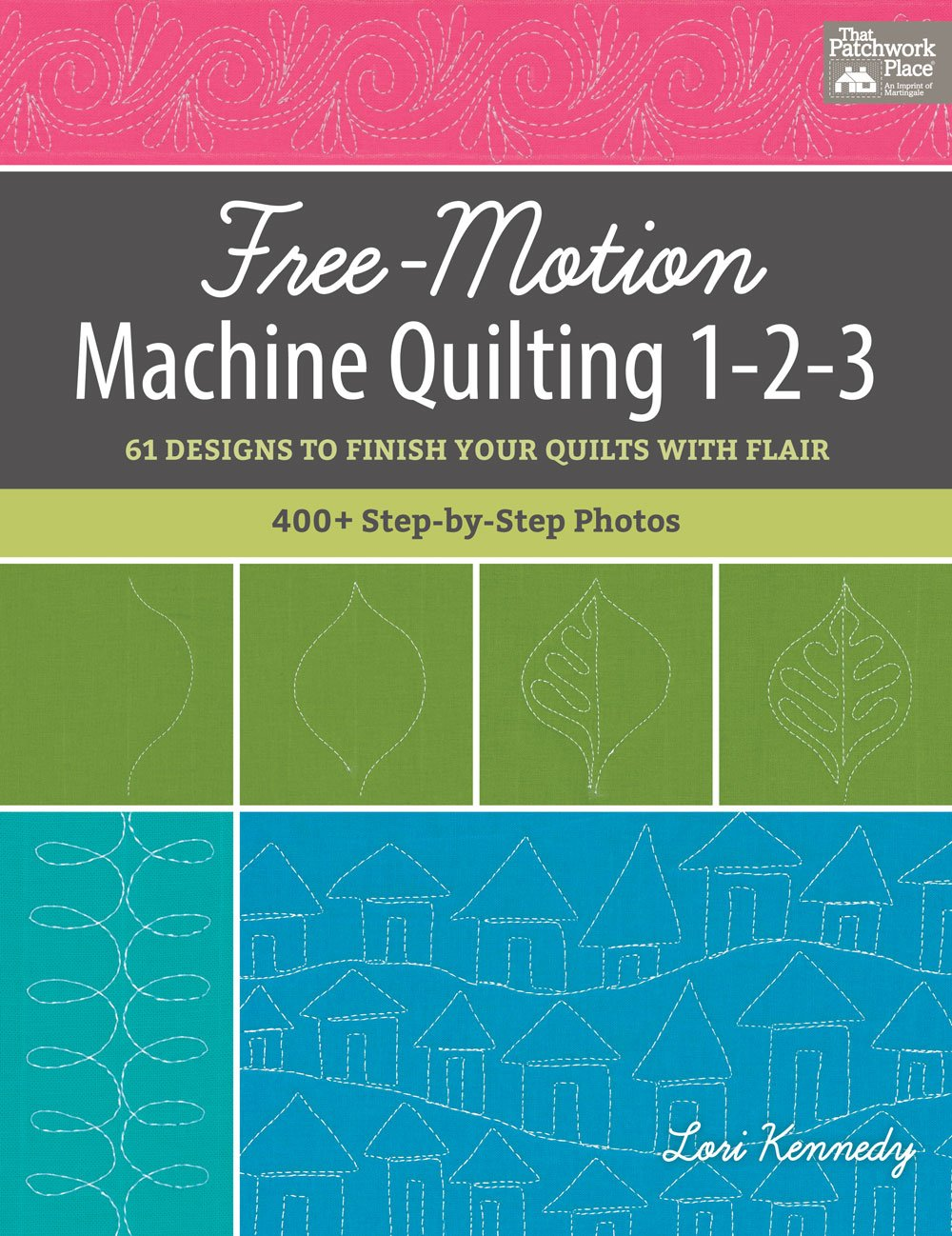 Free Motion Machine Quilting 1 2 3 Designs product image