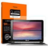 Spigen Tempered Glass Screen Protector Designed for ONLY Asus Chromebook Flip C100PA-DB02 / C101PA-DB02 (10.1 inch) [9H…