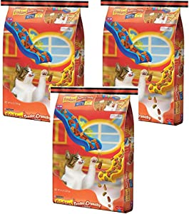 Friskies Dry Cat Food, Tender & Crunchy Combo, 16-Pound Bag, Pack of 3