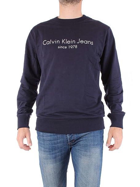 Sudadera Calvin Klein Jeans Hamato Azul S Azul