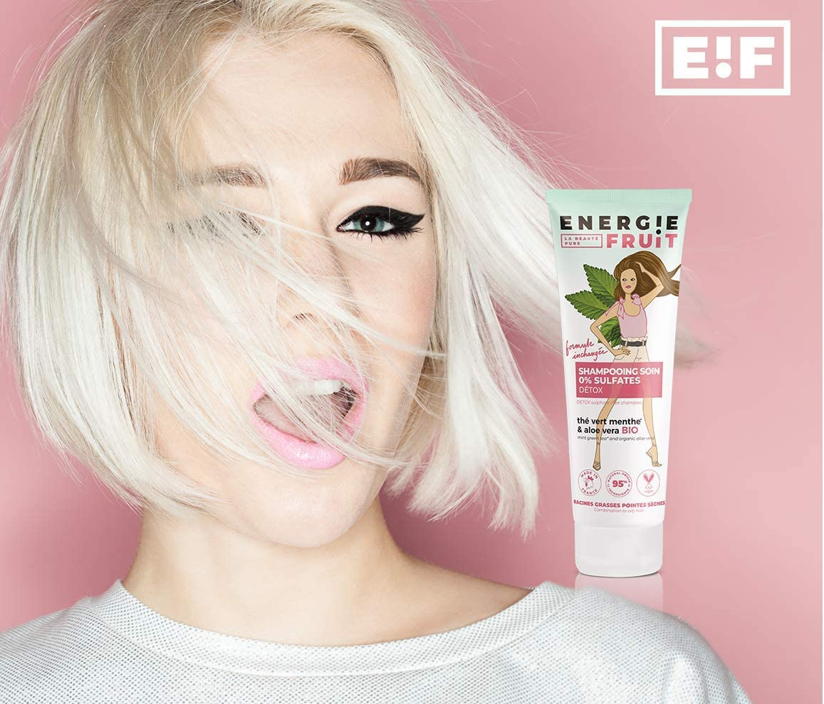 shampooing energie fruit
