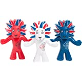 Olympic Mascots Team GB Figurine (Pack of 3)