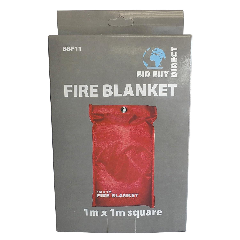 Gardeco F-BLANKET90 90 x 90cm Fire Blanket White