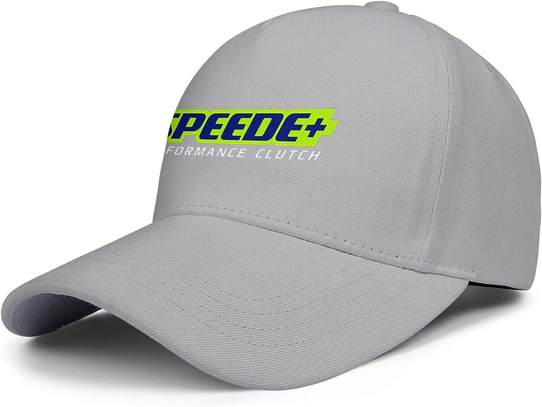 COOLGOOD Speede Clutch Women Mens Plain Trucker Hats Mesh Cap Flat Bill Visor Hats