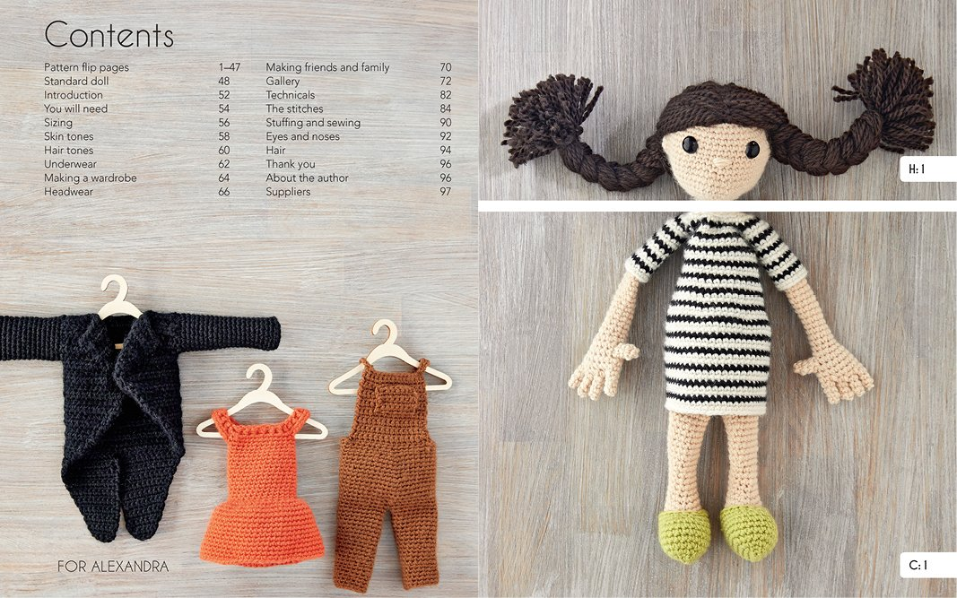 Amazon Edwards Crochet Doll Emporium Flip The Mix And Match