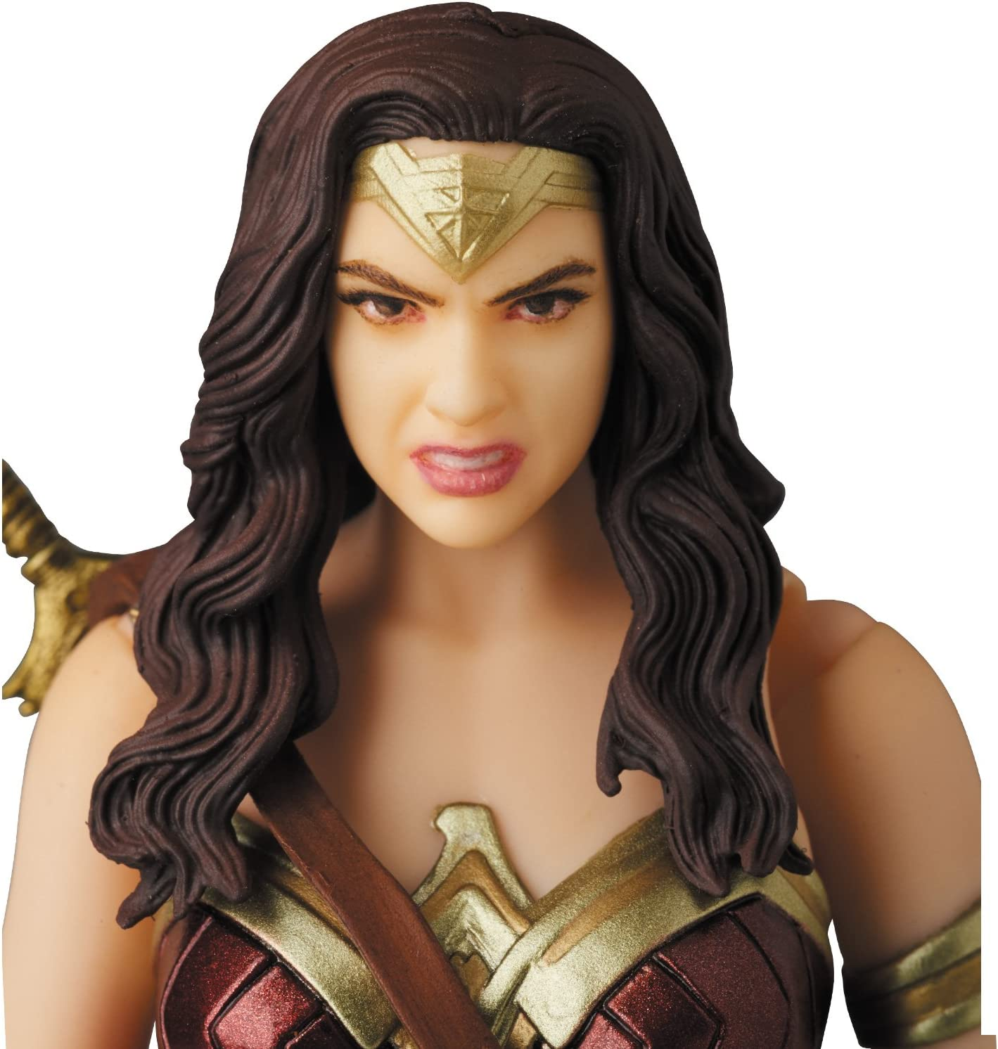 New DC Wonder Woman MAFEX 048 Justice League Figure Collection Model in Box