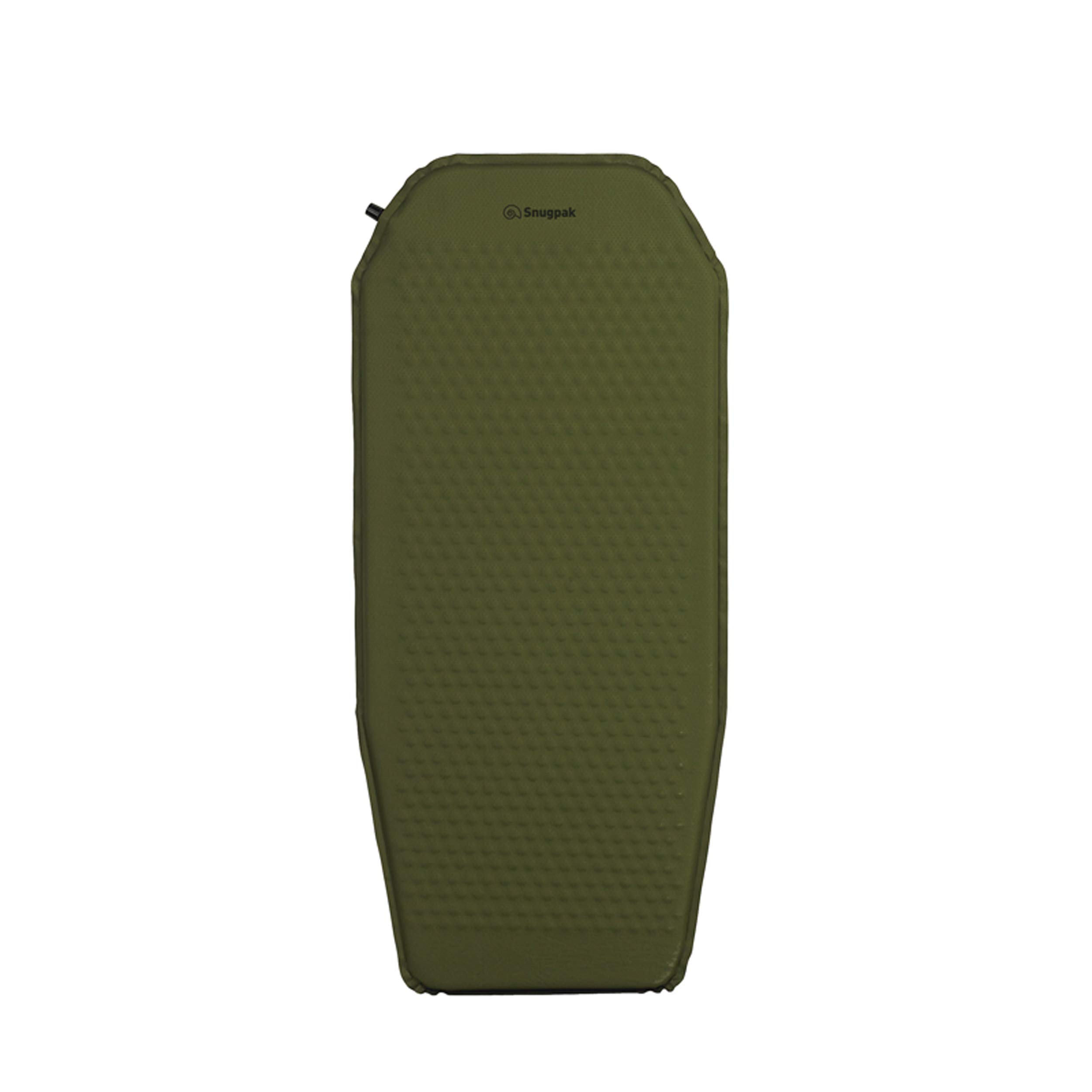 Snugpak Basecamp Ops Self Inflating Midi Mat, Air Mat with Non-Slip Bottom, Olive by Snugpak
