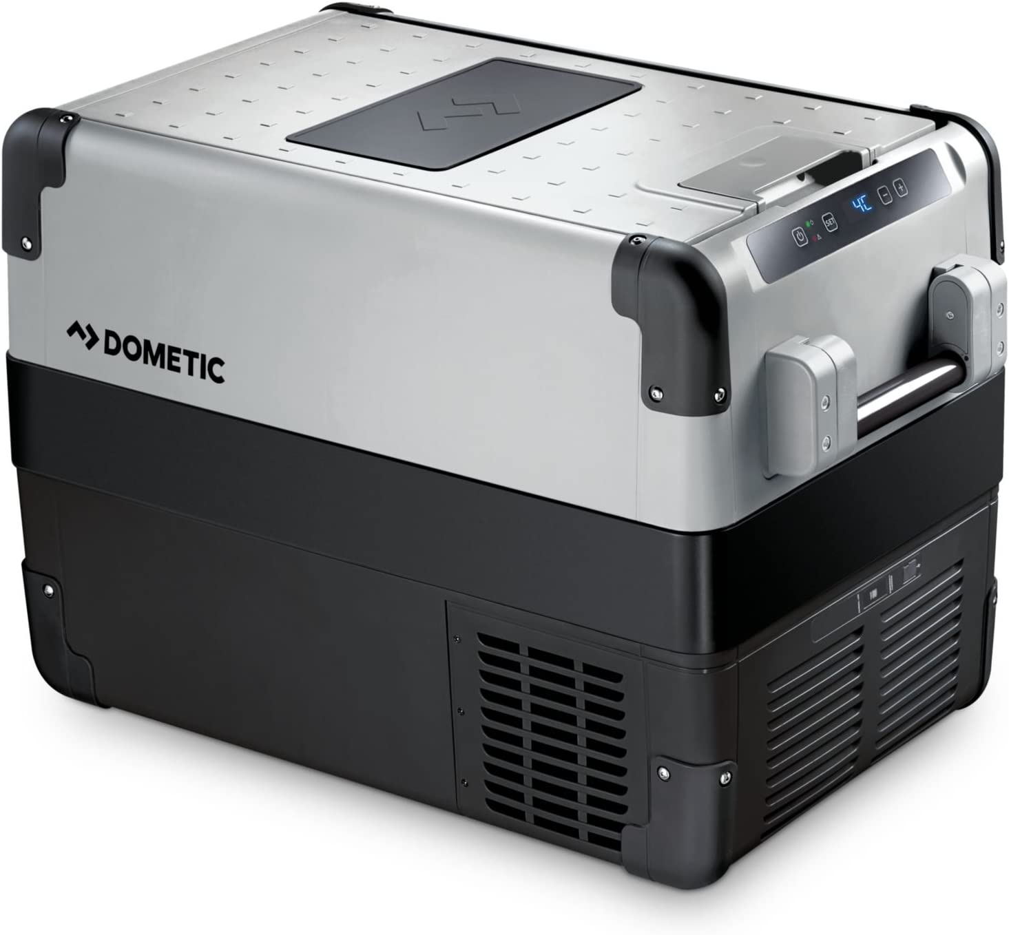 Dometic CoolFreeze CFX 40W - Nevera portátil de compresor, conexiones 12 / 24 / 230 V, 38 litros de capacidad, clasificación energética A++, capacidad de enfriamiento de +10ºC a -22ºC