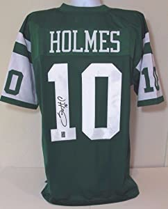 Santonio Holmes NY Jets Ohio State Autographed NFL Jersey Signed GTSM COA