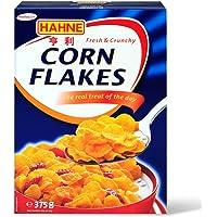 德国进口汉尼Hahne玉米片375g*2 即食谷物营养早餐冲饮麦片