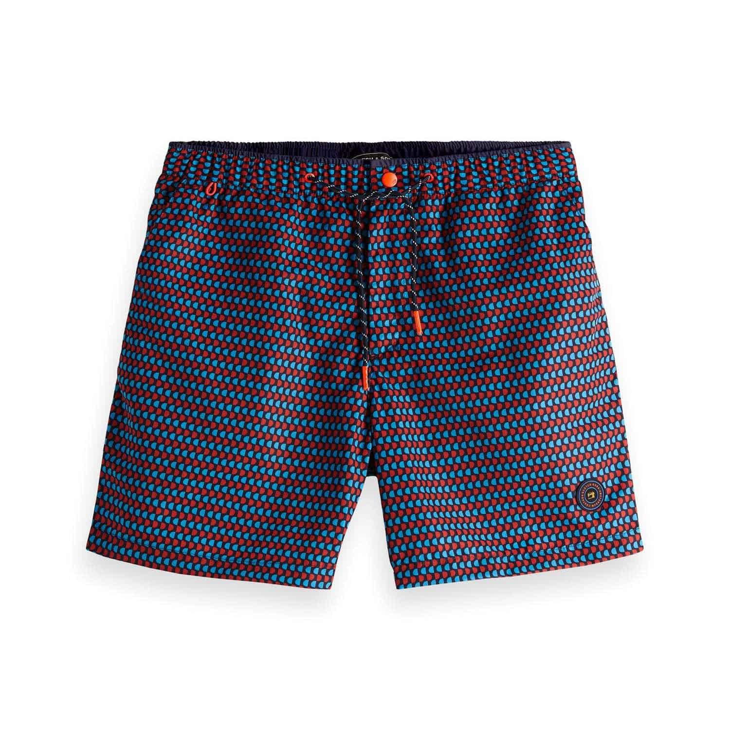 Mehrfarbig Scotch & Soda Herren Classic Colourful Swimshort Shorts