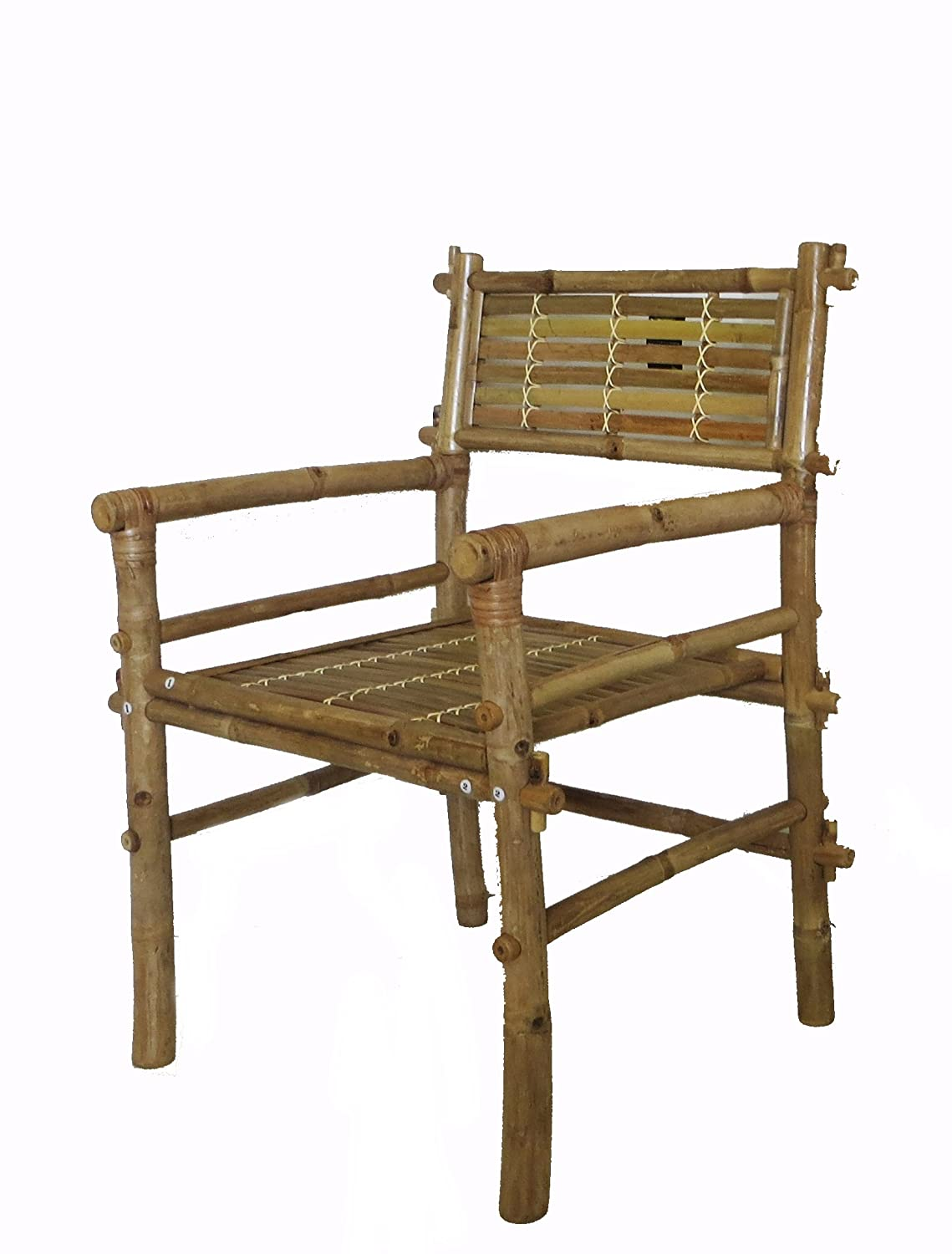 Preferred Amazon.com : Bamboo Arm Chair : Armchairs : Garden & Outdoor PW03