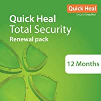 Quick Heal Total Security Renewal Upgrade Silver Pack - 1 User, 1 Year (Email Delivery in 2 hours- No CD)- Existing Quick Heal subscription needed