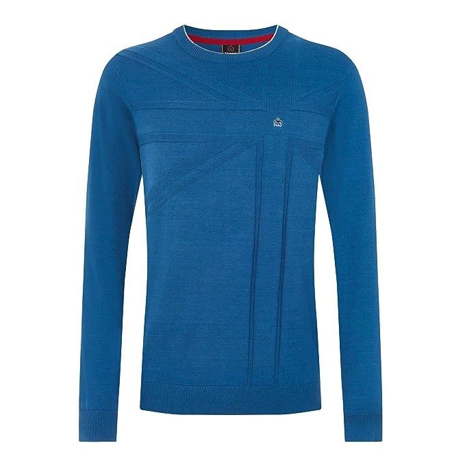 Merc Clothing - Camiseta de Manga Larga - para Hombre Azul Azul X ...