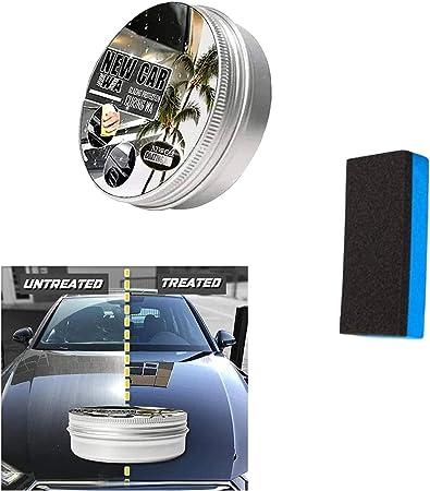 Zkb New Car Coating Wax 150ml Auto Anti Scratch Wax Instant Paint Protection Sealant Glasur Wasserdichtes Antifouling Wax Kommt Mit Wischschwamm Schnellreinigung Politur Glanz 1 Stück Auto