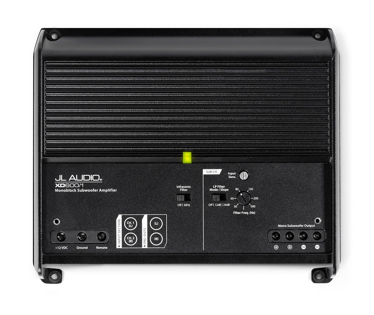 Amazon.com: XD600/1 - JL Audio 600 Watt Class D Monoblock Subwoofer  Amplifier: Cell Phones & Accessories