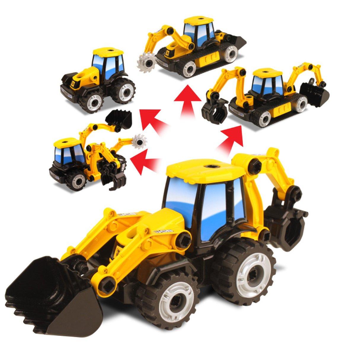 jcb multi construct backhoe amazon co uk toys u0026 games