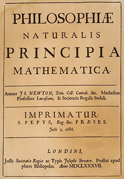 Amazon com: Isaac Newton Title-Page Ntitle Page Of Sir Isaac NewtonS