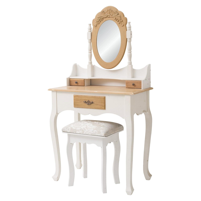 Colonne Salle De Bain Pas Cher Cdiscount ~ rebecca srl coiffeuse coiffeuse table de maquillage 3 tiroirs 1