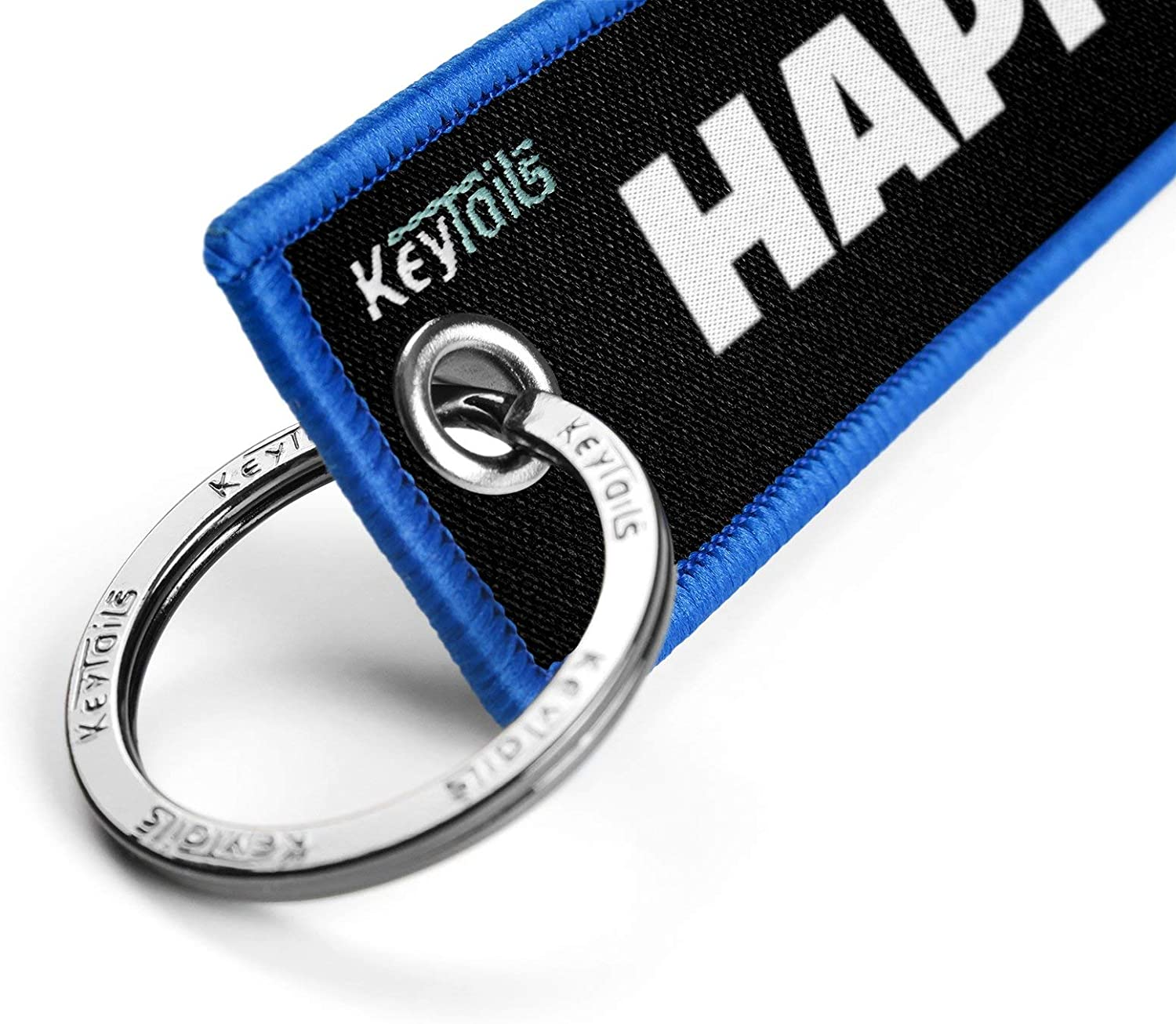 Scooter Key to Happiness UTV ATV Premium Quality Key Tag for Motorcycle KEYTAILS Keychains Car