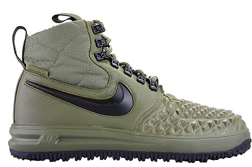 Nike Uomo, Lunar Force 1, Tessuto Tecnico, Sneakers Alte, Verde, 40 EU
