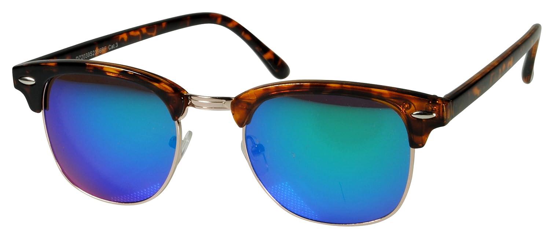 2er Pack Locs 9058 X11 Sonnenbrillen Unisex Herren Damen Männer Frauen Brille - 1x Modell 07 (schwarz glänzend - Skull-Design / schwarz getönt) und 1x Modell 09 (schwarz glänzend / schwarz getönt) 2OqxgSx