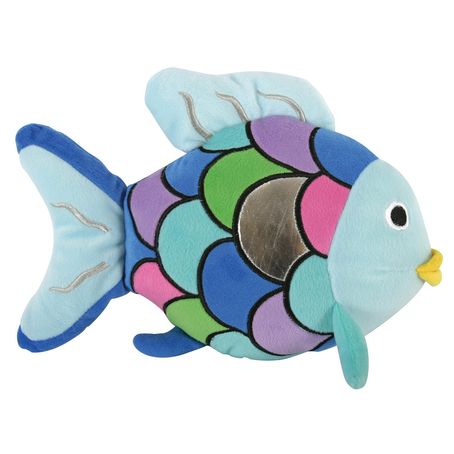 Stephan Baby Super-Soft Plush Pillow Toy, Rainbow Fish
