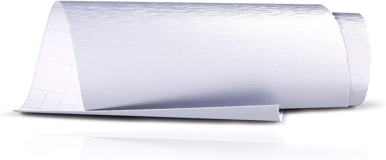BLACKSHELL Ladekantenschutz inkl Premium Rakel f/ür Caddy 4 ab 2015 Alu geb/ürstet Silber Auto Schutzfolie Sto/ßstangenschutz passgenaue Lackschutzfolie Steinschlagschutz