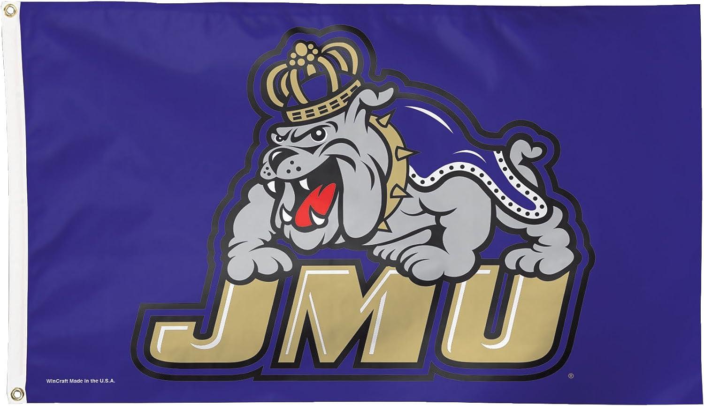 3 x 5-Foot NCAA James Madison Dukes Flag Deluxe