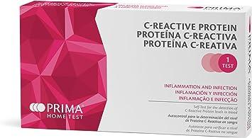Prima Home Prueba de proteína C reactiva (CRP)