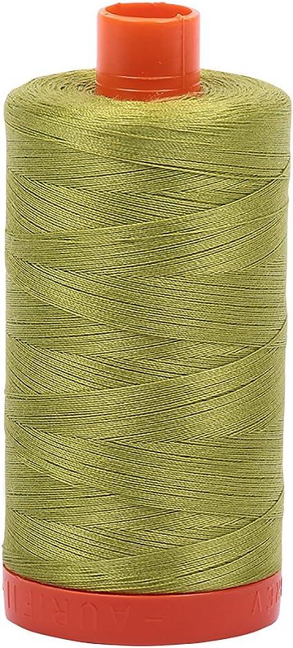 Aurifil Mako Cotton Thread Solid 50wt 1422yds Dark Antique Gold