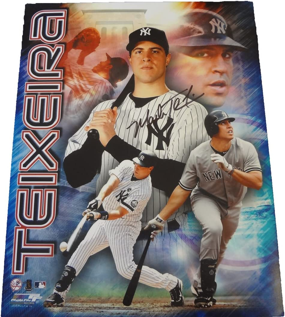 B00F65E65Y Mark Teixeira Autographed New York Yankees 11x14 Photo W/PROOF, Picture of Mark Signing for Us, New York Yankees, Atlanta Braves, Texas Rangers, Los Angeles Angels, World Series Champion, All Star 717SnHh1obL.SL1066_