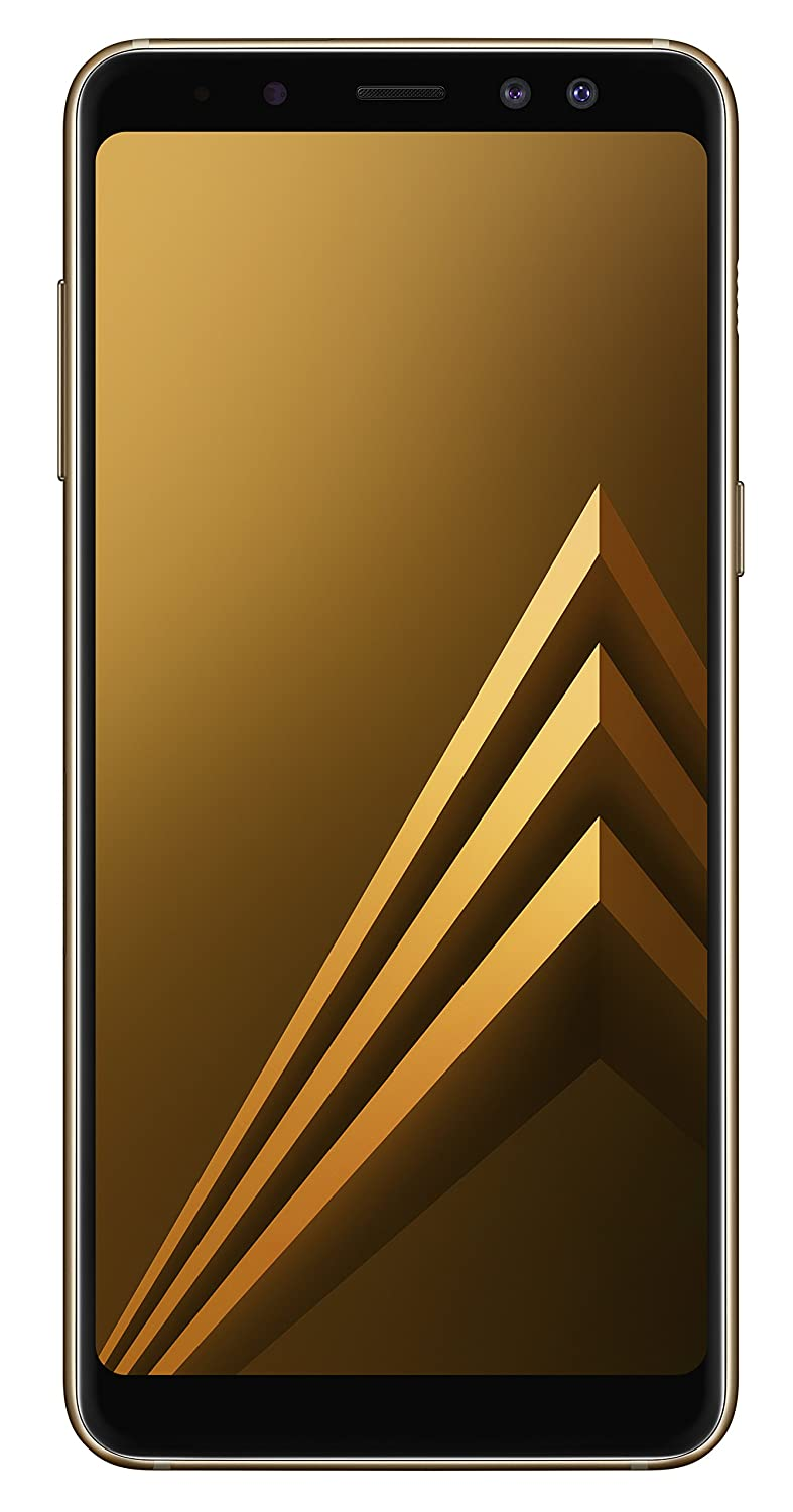 """Samsung Galaxy A8 (2018) SM-A530F 4G Gold - smartphones (14.2 cm (5.6""""), 4 GB, 16 MP, Android, 7.1.1, Gold)"""