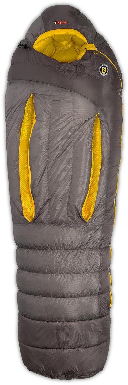 [ニーモ]NEMO Sonic 15 Sleeping Bag 寝袋 GRANITE/SUNBURST YELLOW [並行輸入品] B01N3AWZW5  Regular Left