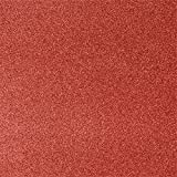 12 x 12 Cardstock - Holiday Red Sparkle (500 Qty.) | Perfect for the Holidays, Crafting, Invitations, Scrapbooking and so much more! |1212-C-MS08-500