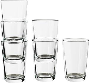 IKEA 365 Clear Glass 6 Pack 5