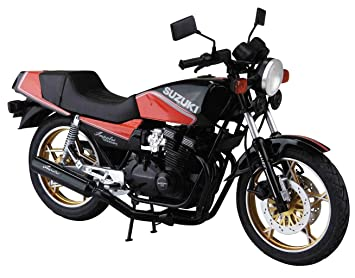 1982 Suzuki GSX400FS Impulse Bike Motorrad 1:12 Model Kit Bausatz Aoshima 053959