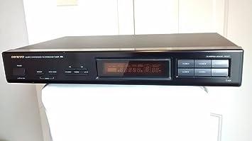 Amazon.com: Onkyo T-401 sintonizador FM Stereo/AM Stereo ...
