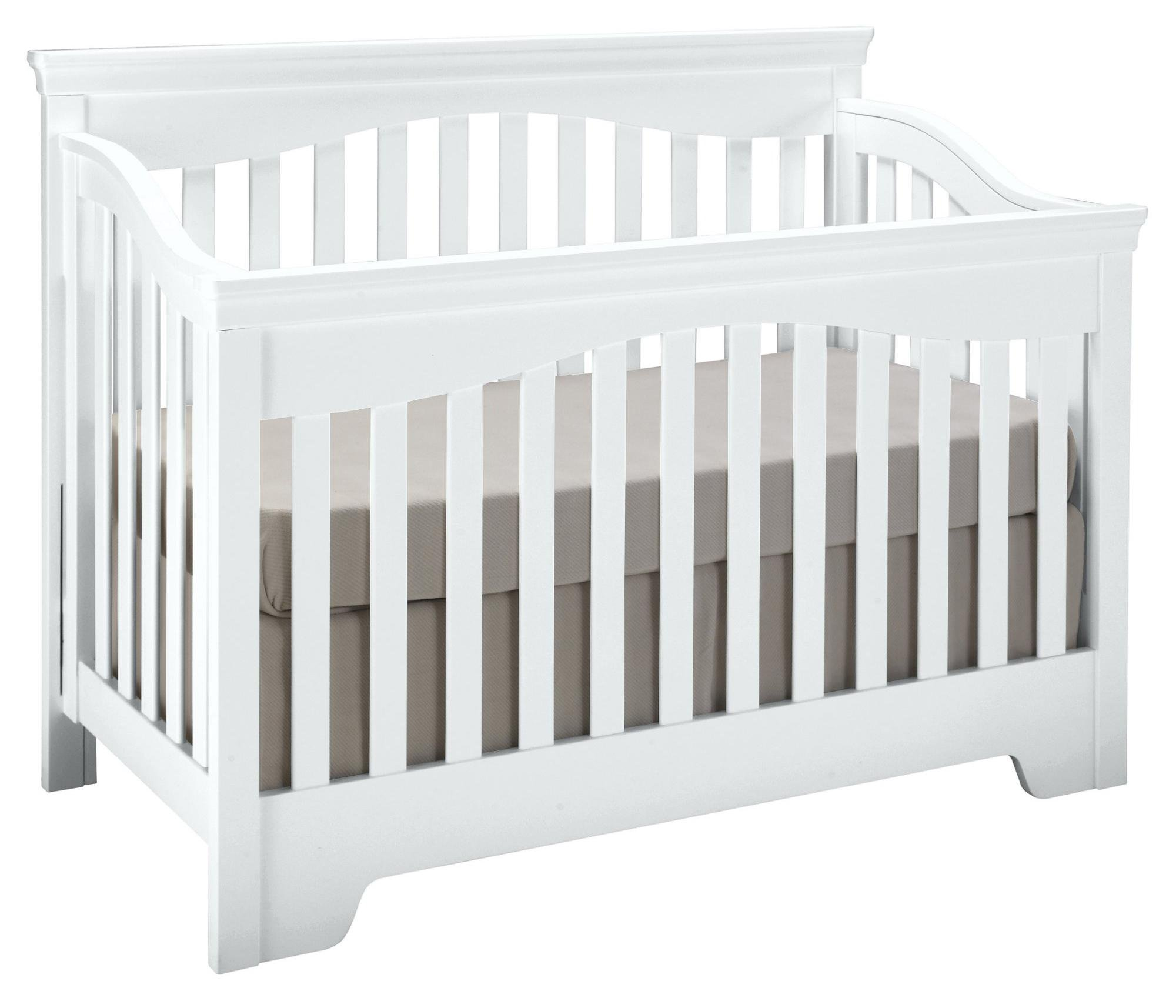Young America Built to Grow Toddler Bed Kit Safety Rail w/Daybed Conversion Kit - White