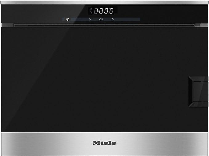 Miele DG 6019 Stand Vaporera de acero inoxidable/CleanSteel ...