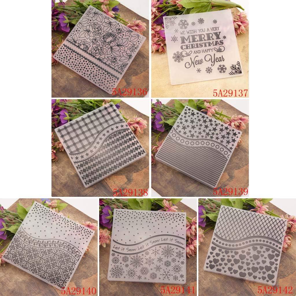 Snow Tree Plastic Embossing Folder Template DIY Scrapbook Photo Album Card Make RUZYY Embossing Folder