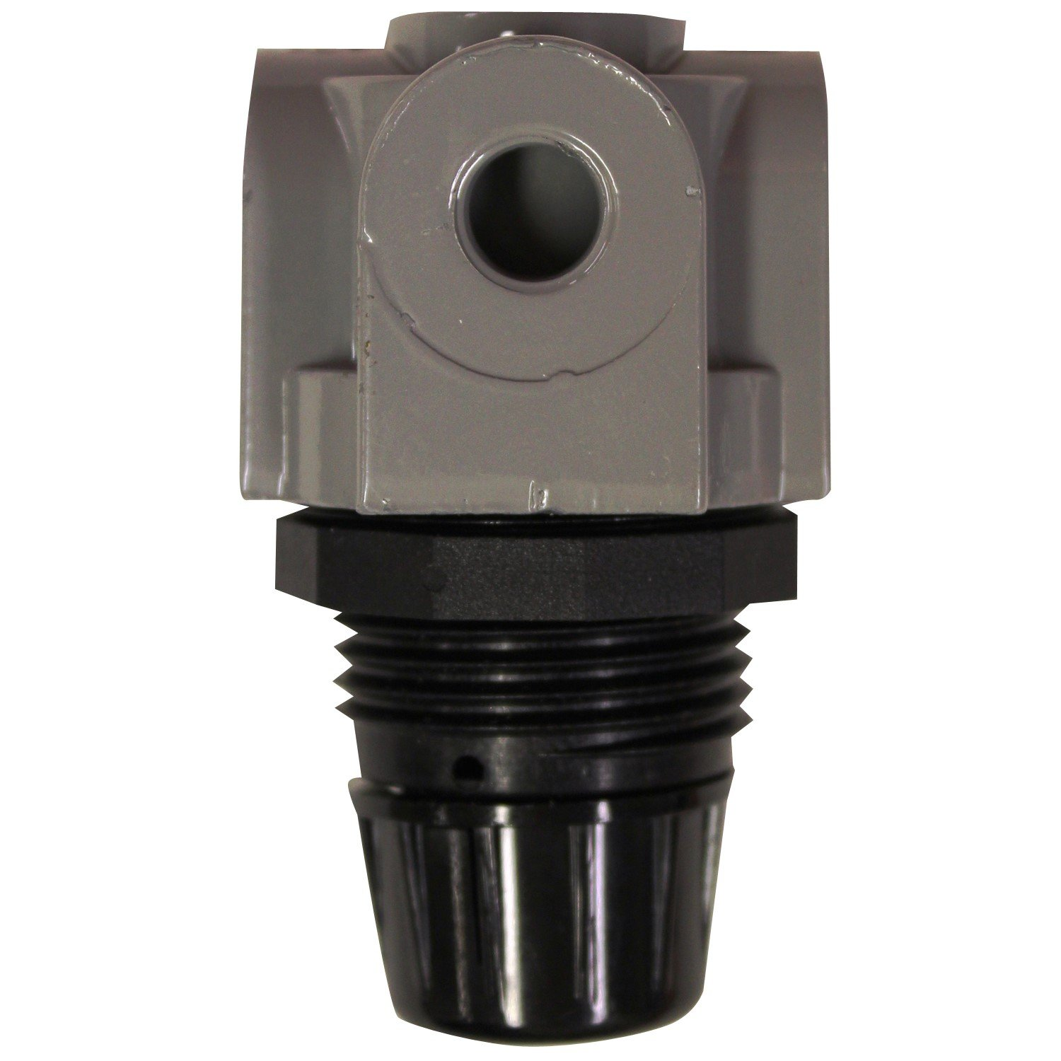 "Milton 1145BK 1/4"" NPT Mini Heavy Duty Regulator - Box of 12"